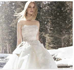 Who knew: choosing a wedding dress is a psychological hurdle....?
